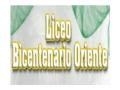 LICEO BICENTENARIO ORIENTE